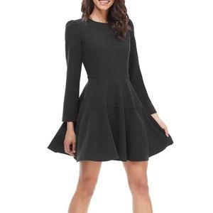 Gal Meets Glam Celeste mini dress black size 10